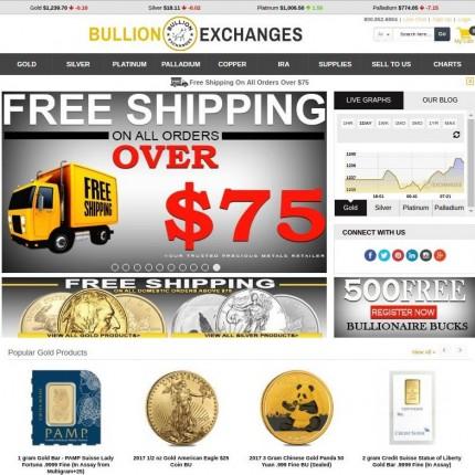 Bullion Exchanges Reviews