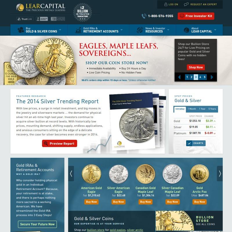 Lear Capital Reviews Gold Dealer Reviews