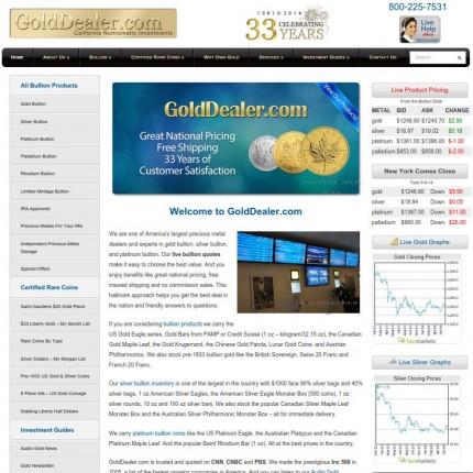 GoldDealer.com - CNI