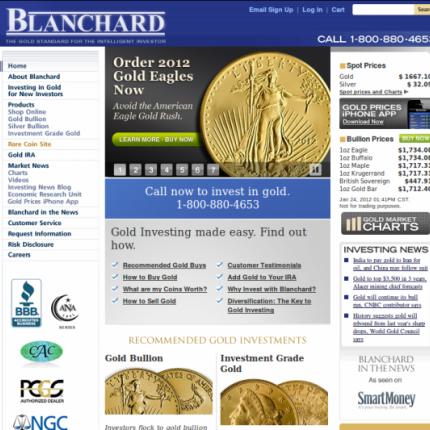 Blanchard Online